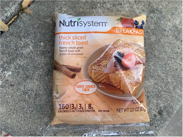 nutrisystem thick sliced french toast