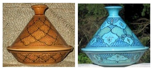 decorative tagines used for serving