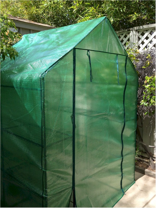 Portable Greenhouse Replacement Cover : Plastic covering for greenhouses