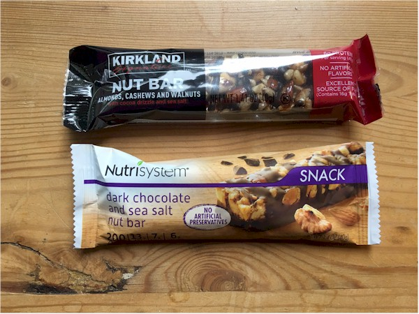 kirkland and nutrisystem bars together