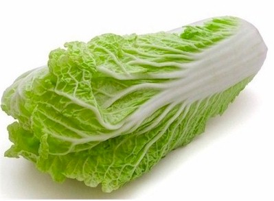 Cabbage Like Vegetable  Letters