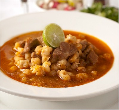 mexican pozole : image by viktor kis