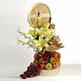 steamer fruit basket arrangement