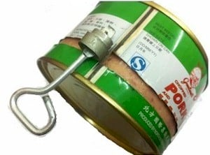 old can with key style opener
