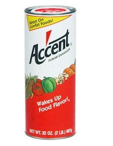 accent msg powder