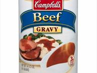 beef gravy in a can