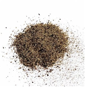black ground pepper