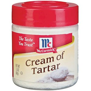 Cream of tartart