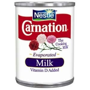 how to substitute evaporated milk for regular milk