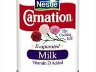 evaporated canned milk