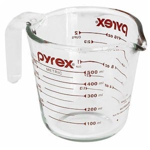 liquid measuring cup