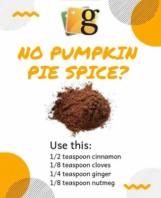 substitute for pumpkin pie spice