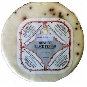rustico black pepper cheese