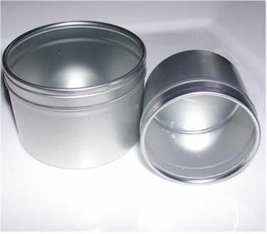 aluminum spice tins with clear lids
