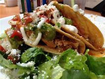 andale crispy chicken tacos
