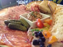 charcuterie plate at cin-cin los gatos