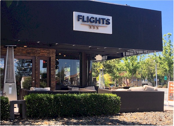 flights restaurant front view