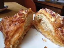 manresa bread almond croissant cut open