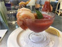 bywater gazpacho at happy hout