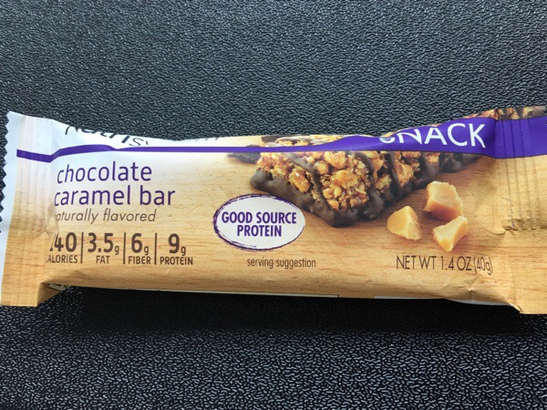 nutrisystem chocolate caramel bar