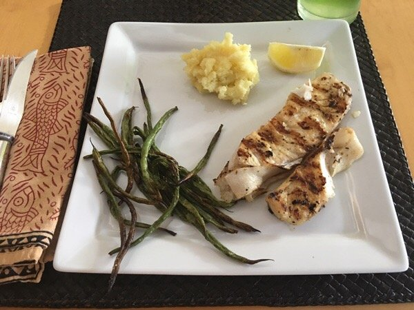 nutrisystem fresh start day 26 dinner on place mat