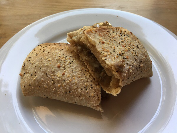 nutrisystem steak and cheese melt heated