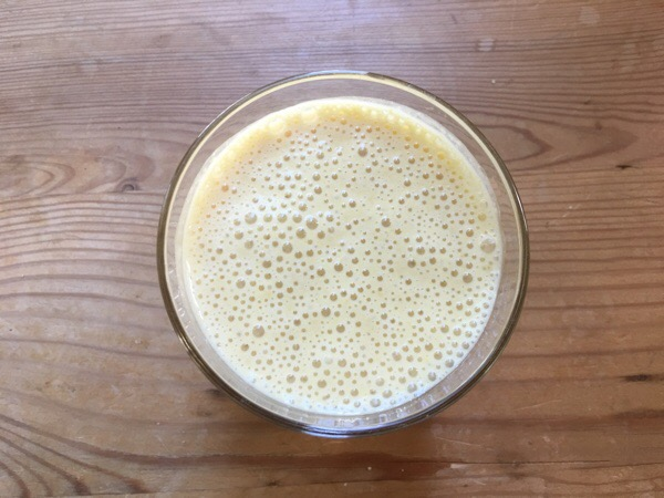 fresh start day 41 banana smoothie
