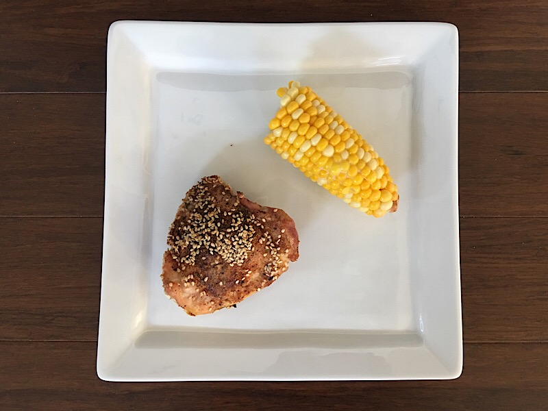 healthy living day 10 dinner