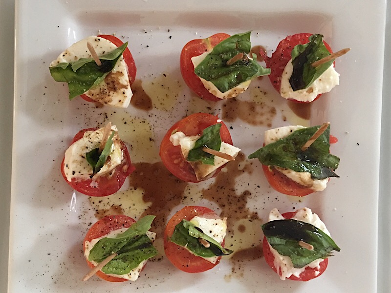 healthy living day 17 appetizer