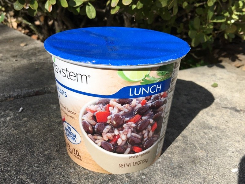 nutrisystem black beans and rice