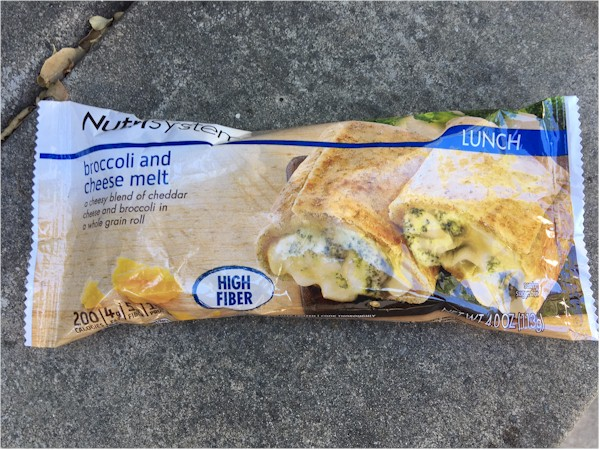 nutrisystem broccoli and cheese melt