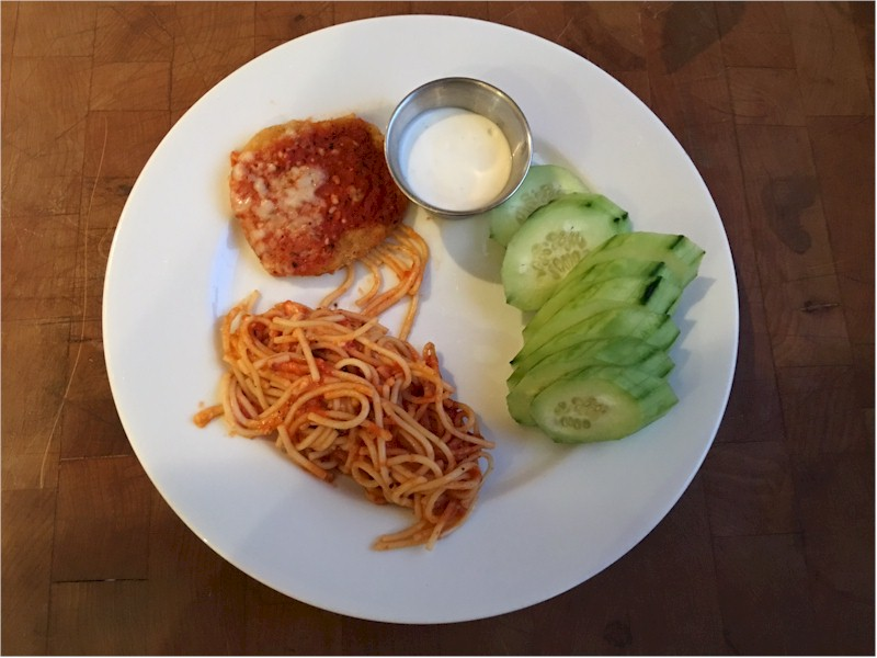 nutrisystem day 124 dinner chicken parmesan