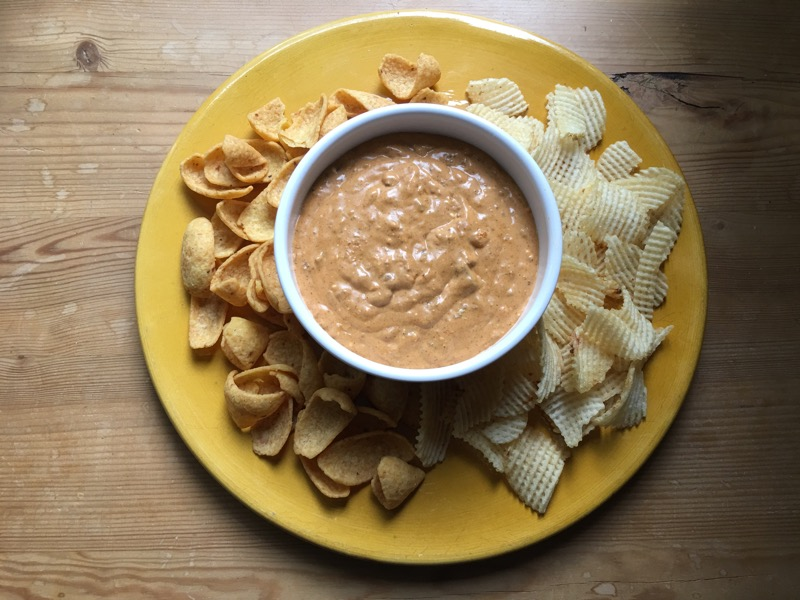 nutrisystem day 170 dinner chips and dip