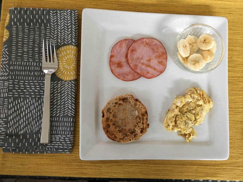 nutrisystem day 186 breakfast