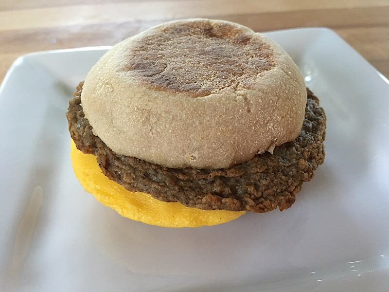 nutrisystem turkey sausage and egg muffin