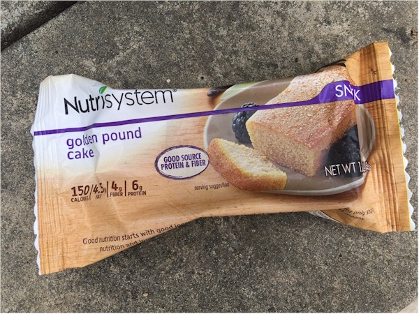 nutrisystem day 55 golden pound cake