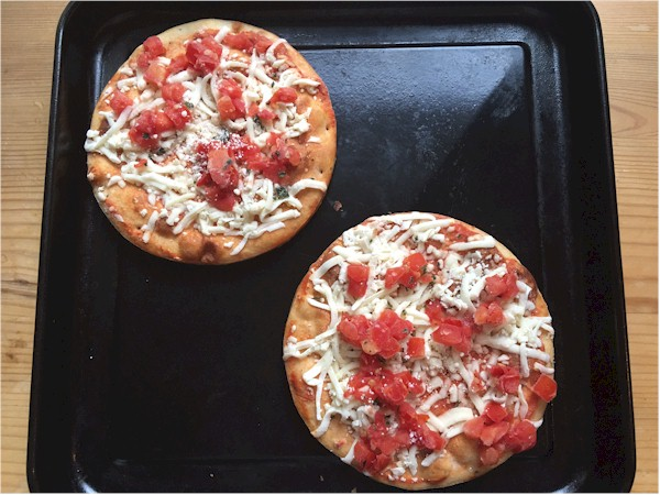 nutrisystem day 57 pizzas ran on pan