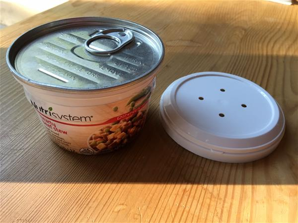 nutrisystem hearty beef stew with lid removed