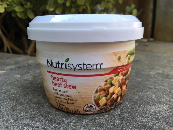 nutrisystem hearty beef stew