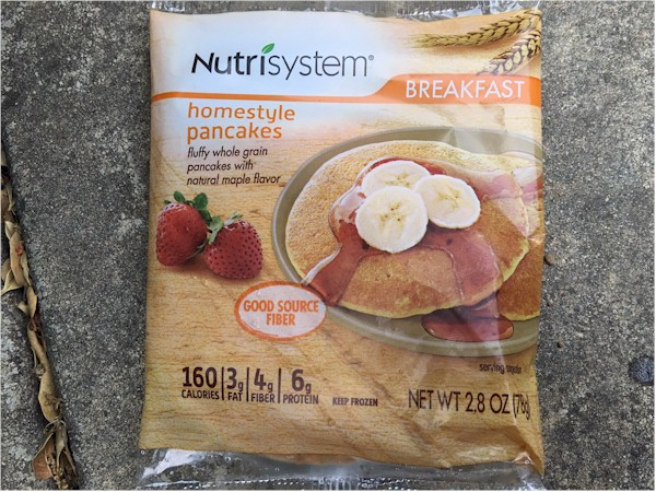 nutrisystem homestyle pancakes