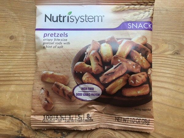 nutrisystem pretzels in bag
