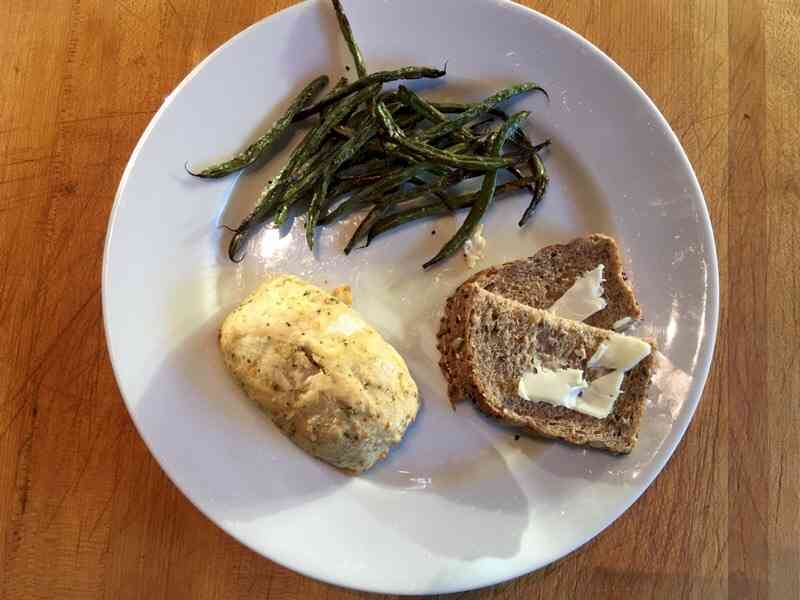 nutrisystem mushroom stuffed chicken breast roasted green beans