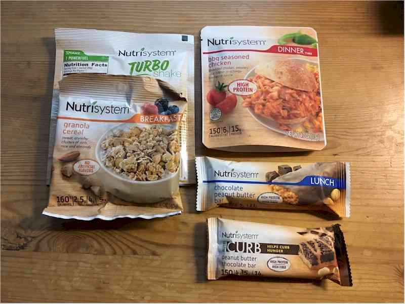 nutrisystem reboot day 4 all nutrisystem foods