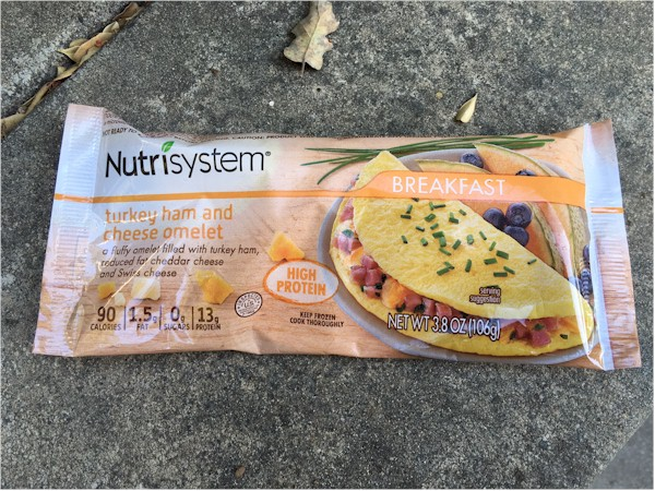 nutrisystem turkey ham and cheese omelet