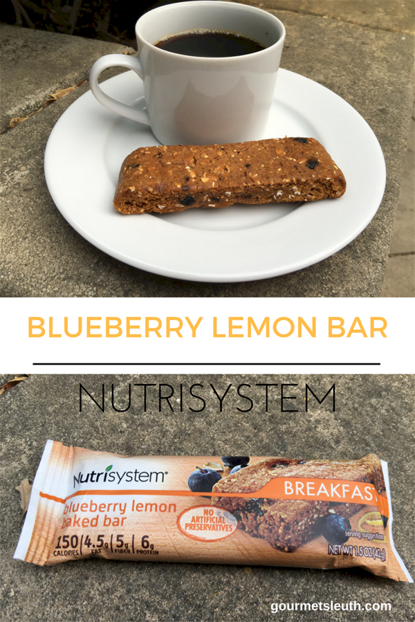 nutrisystem blueberry lemon bar