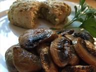 Lower Fat Sauteed Mushrooms