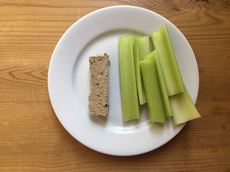 slimming world pate and celery