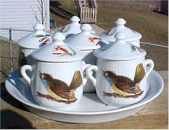 louis lourioux pot de creme set