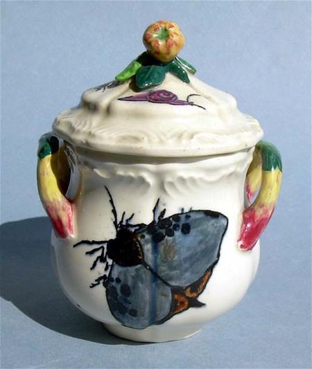 rousseau a paris pot de creme cup front with moth