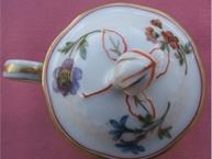 haviland-limoges-au-vase-etrusque-lid pot de creme cup
